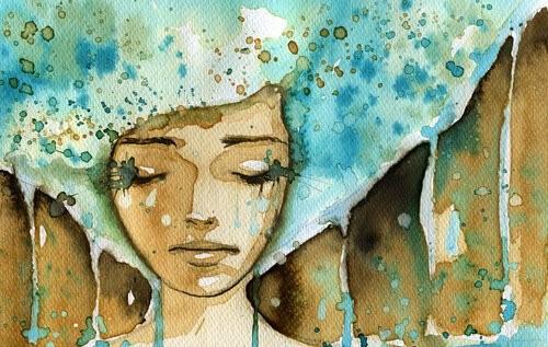 Mujer-pelo-azul-triste[1]