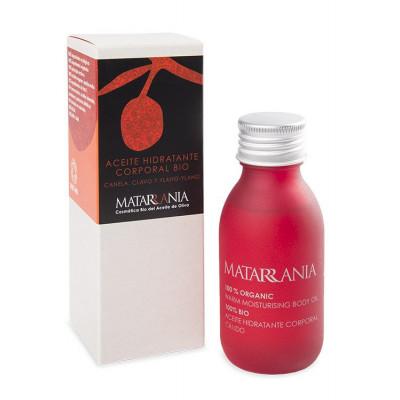 Aceite hidratante corporal canela, clavo, ylang ylang BIO 100 ml.
