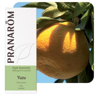 Aceite esencial de yuzu 5 ml.