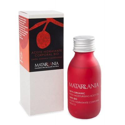 Aceite hidratante corporal limón, naranja, mandarina BIO 100 ml.