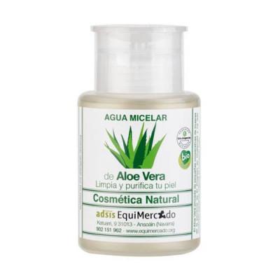Agua micelar de aloe vera BIO 150 ml.