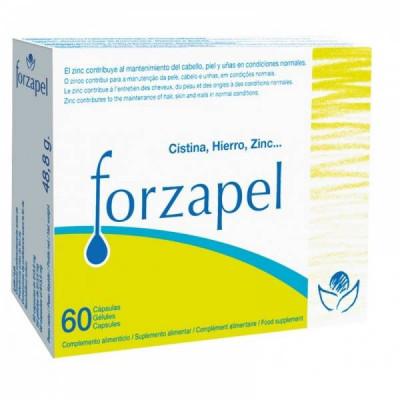 Forzapel (con cistina+hierro+zinc+selenio) 60 cápsulas