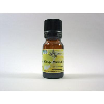 Aceite Esencial de Lavanda de los Alpes Marítimos BIO 5 ml. (varias altitudes)
