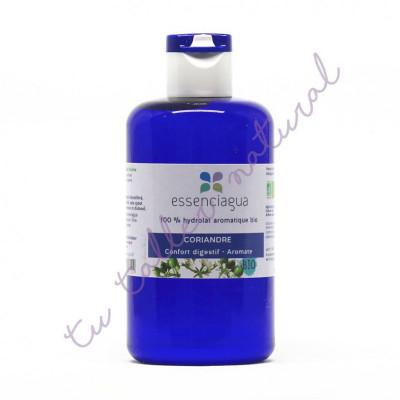 Hidrolato de coriandro BIO 250 ml. (Apto vía oral) - Essenciagua
