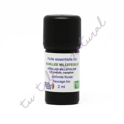 Aceite esencial de milenrama silvestre BIO 2 ml. - Essenciagua