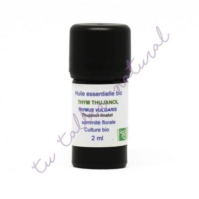 Aceite esencial de tomillo tujanol BIO 2 ml. - Essenciagua