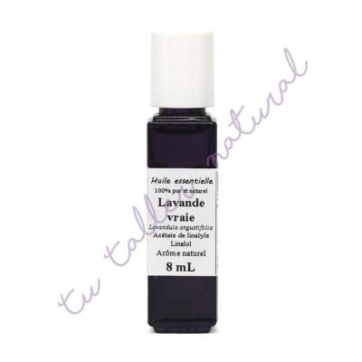 Aceite esencial de lavanda silvestre BIO 8 ml. (Ródano-Alpes) - Distillerie Les Essentielles