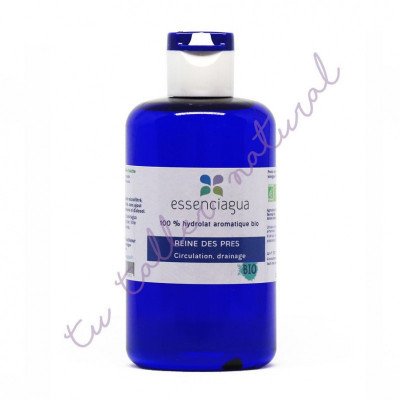 Hidrolato de ulmaria silvestre BIO 250 ml. (apto para la vía oral) - Essenciagua