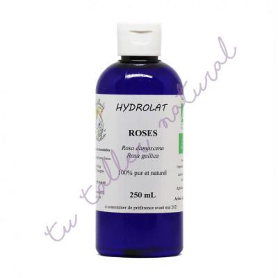 Hidrolato de rosa damascena y galica BIO 250 ml. - Destillerie Les Essentielles