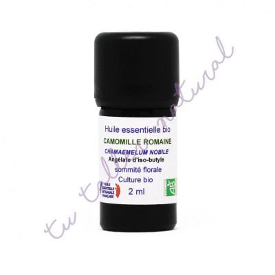 Aceite esencial de Manzanilla romana BIO 2 ml. - Essenciagua