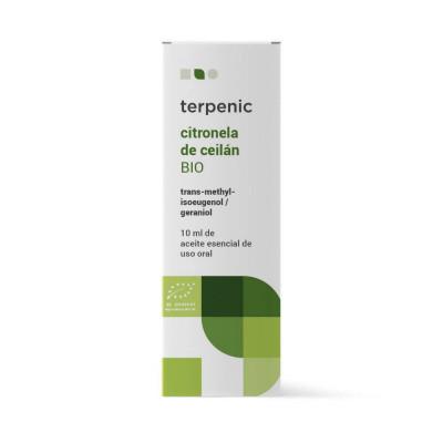 Aceite esencial de citronela de Ceylán 10 ml. - Terpenic Labs