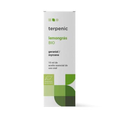 Aceite Esencial de Lemongrass  BIO 10 ml. - Terpenic Labs