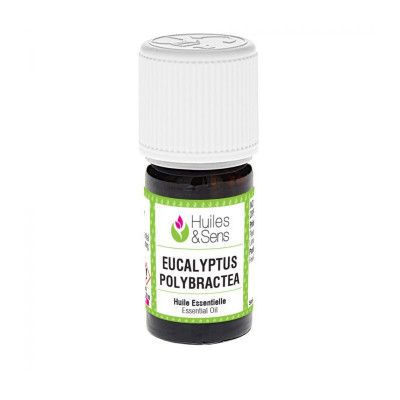 Aceite esencial de eucalipto polybractea 5 ml.
