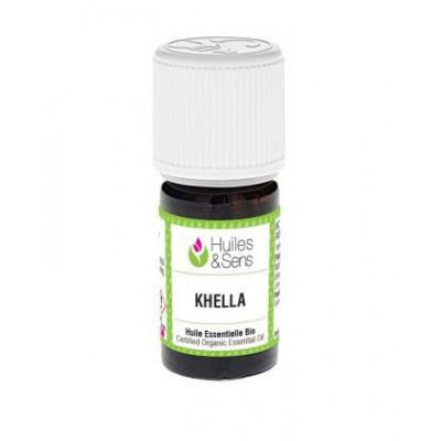 Aceite esencial de biznaga - khella BIO 2 ml.