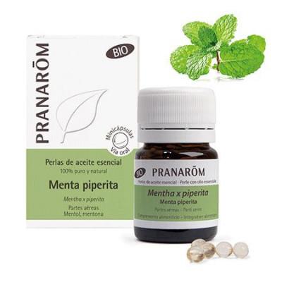 Aceite Esencial de menta piperita BIO en perlas - Pranarom