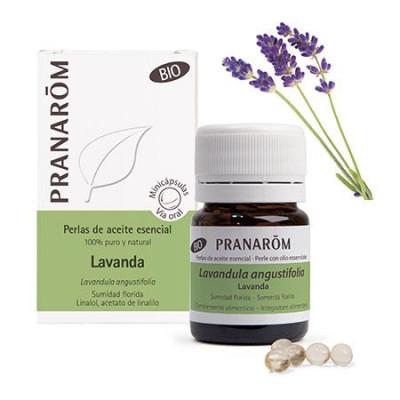 Aceite Esencial de lavanda BIO en perlas - Pranarom