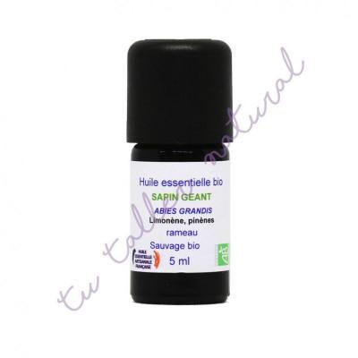 Aceite Esencial de abeto gigante silvestre BIO 5 ml. - Essenciagua