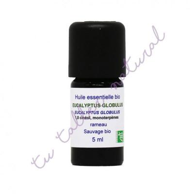 Aceite esencial de eucalipto globulus silvestre BIO 5 ml. - Essenciagua