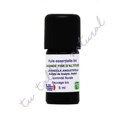 Aceite esencial de lavanda de altura silvestre BIO 5 ml. - Essenciagua