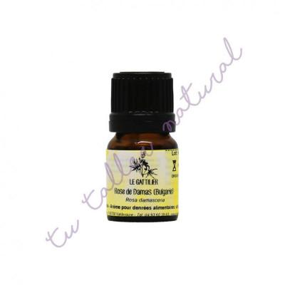 Aceite esencial de rosa de Bulgaria BIO 1 y 2 ml. - Le Gattilier