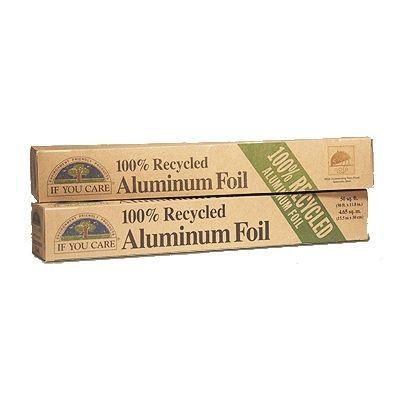 Papel de aluminio 100% reciclado 10m
