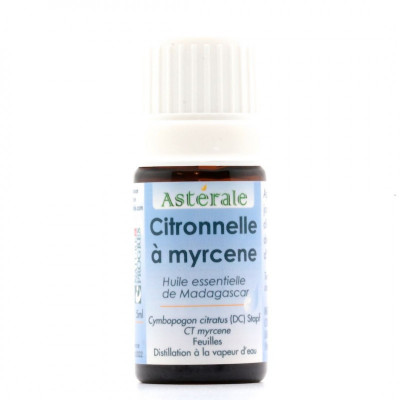 Aceite esencial de citronela qt. mirceno 5 ml.