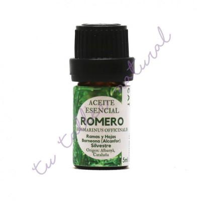 Aceite Esencial de Romero Alcanfor silvestre 5 ml. - Essenciescat