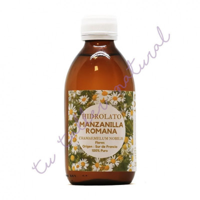 Hidrolato de manzanilla romana 250 ml. (Apto vía oral) - Essenciescat
