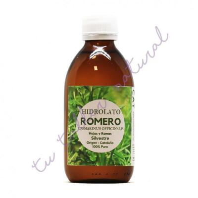 Hidrolato de Romero silvestre (alcanfor) 250 ml. (apto vía oral) - Essenciescat