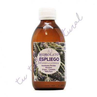 Hidrolato de espliego silvestre 250 ml. (apto para la vía oral) - Essenciescat