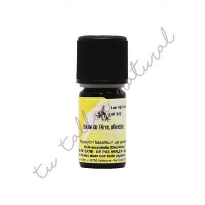 Aceite esencial (oleoresina) de Bálsamo de Perú 5 ml. - Le Gattilier