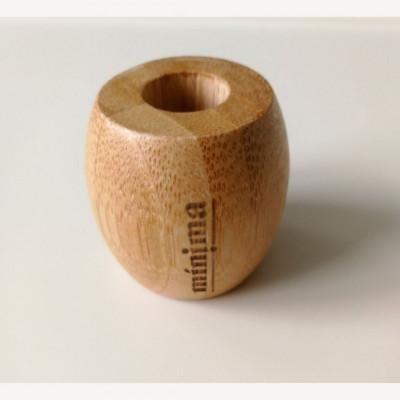 Portacepillos de bambú 100% biodegradable