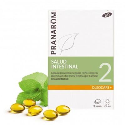 Salud intestinal - 30 cápsulas con aceites esenciales Bio