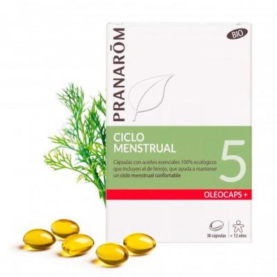 Pranarôm Oleocaps 5- Ciclo Menstrual- 30 cápsulas