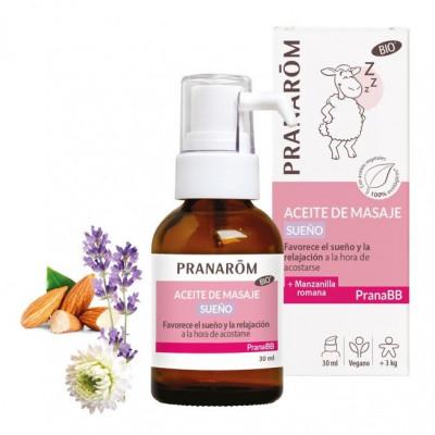 Aceite de masaje - Sueño- 30ml. -PranaBB