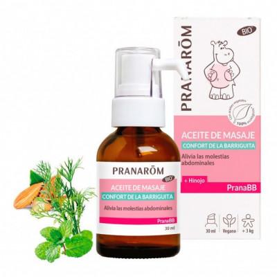 Aceite de masaje - Confort de la barriguita- 30ml. -PranaBB
