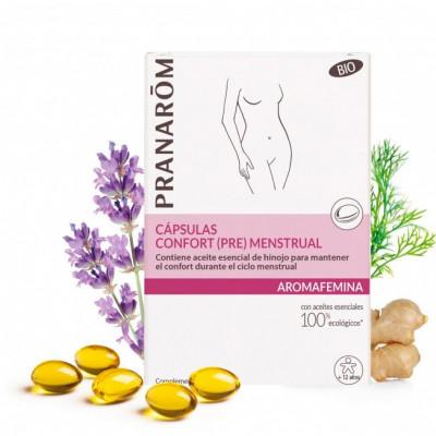Cápsulas Confort  (Pre) Menstrual - 30 cápsulas - Aromafemina
