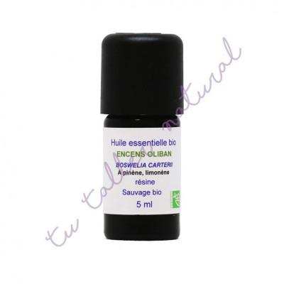 Aceite esencial de incienso (olibano) silvestre BIO 5 ml. - Essenciagua