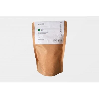 Recambio dentífrico natural ecológico en polvo en bolsa 120gr- Mínima Organics