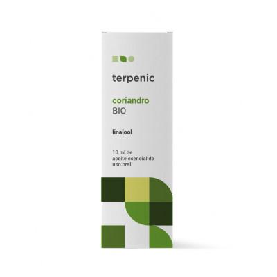 Aceite esencial de Coriandro BIO 10 ml. - Terpenic Labs