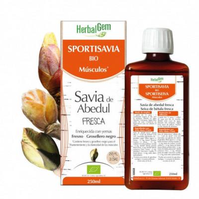 SportiSavia BIO 250ml.-Herbalgem