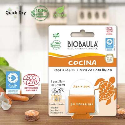 Pastilla desengrasante ecológica Cocina - Biobaula