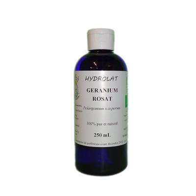 Hidrolato de geranio BIO 250 ml.