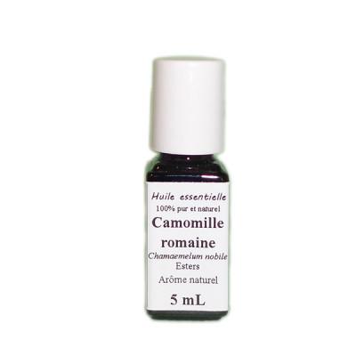 Aceite esencial de manzanilla romana BIO 5 ml.