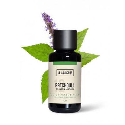 Aceite esencial de pachuli 10 y 30 ml.