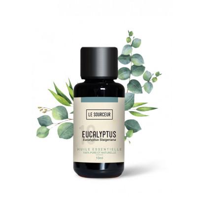 Aceite esencial de eucalipto staigeriana 10 ml.