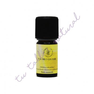 Aceite Esencial de árbol del té (Australia) BIO 5 ml.