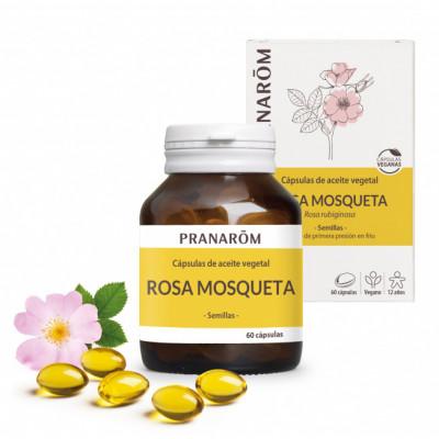Cápsulas vegana de Rosa Mosqueta