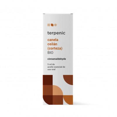Aceite esencial de canela de Ceylán (corteza 30%) BIO 5 ml.