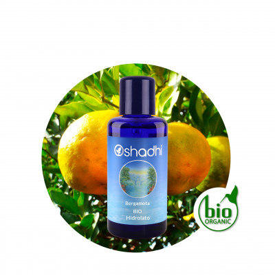 Hidrolato de bergamota BIO 100 ml.